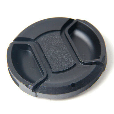 49mm Snap-On Center Pinch Front Lens Cap Cover For Camera Sony Canon Nikon MA
