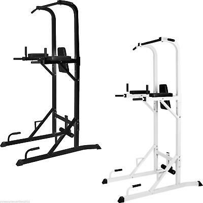TNP Ultimate Dipping Power Tower Tricep Dip Station Pull Push Sit Up Crunch Bar