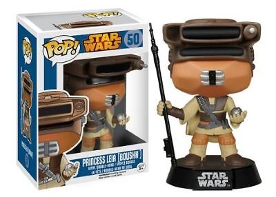 POP! Star Wars: Boushh Princess Leia - 50 Vinyl Bobble-Head Disney Lucasfilm New