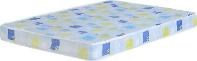 "Azarra Budget 3ft Single Double 4'6"" Mattress in Green & Blue Swirl Pattern Bed"
