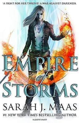 Empire of Storms (Throne of Glass) by Sarah J. Maas Paperback NEW BESTSELLER