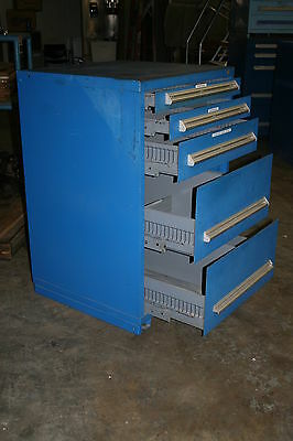 LISTA 5 Drawer Industrial Tool Cabinet 30x30x45