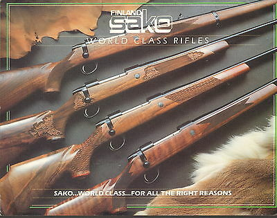 Sako World Class Rifles Brochure - undated