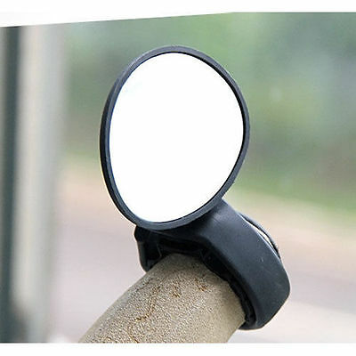 2016 Bike Bicycle Cycling Mirror Glass Flexible Rearview Fit anywhere UK Seller