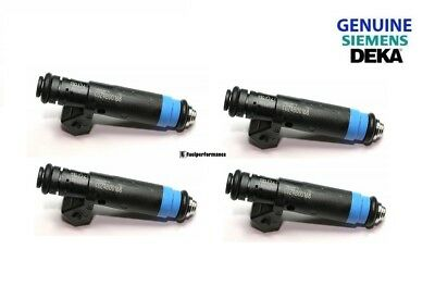 NEW GENUINE SIEMENS DEKA Fuel Injector 110324  875cc 80lb EV1 High Impedance (4)