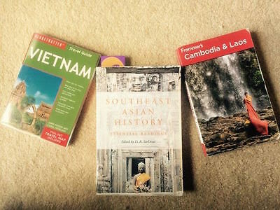 Southeast Asia Travel and History Books