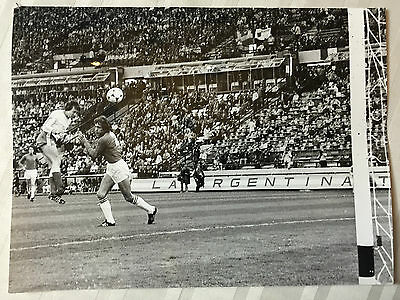 photo press football  World Cup 1978  France-Italie , But de Lacombe      349
