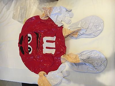 M&M's red inflatable character brand new!