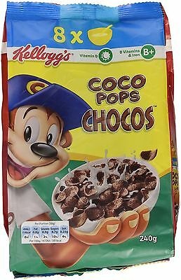 Kellogg's Coco Pops Chocos 240g Pack of 10