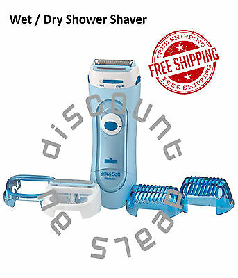 Female Shaver Exfoliation Braun Wet Dry Shower Shave Trimmer Cordless Battery