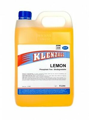 5 litre - Jasol Klenzall Lemon Disinfectant - Household Cleaning Products