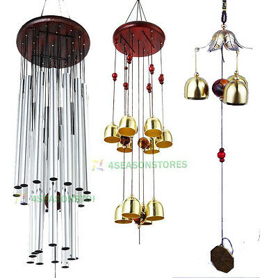 National Copper Bells Tubes Wind Chime Home Yard Garden Outdoor Living Decor