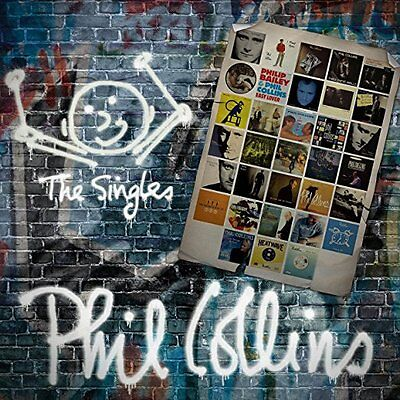 Phil Collins Cd - The Singles [2 Discs](2016) - New Unopened - Rhino Records