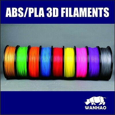 3D Printing Filament High Quality 1.75Mm 1Kg Abs Wanhao Brand.