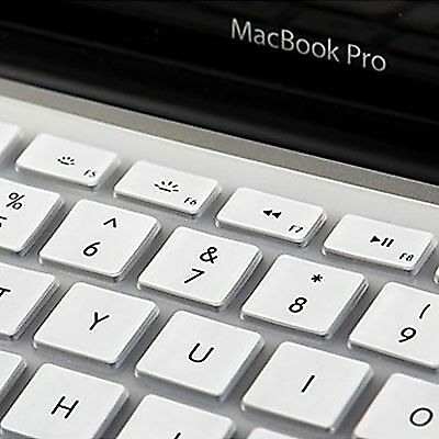 TECH White ENKAY Colorful Soft Silicon Keyboard Protector Cover Skin for MacBoo
