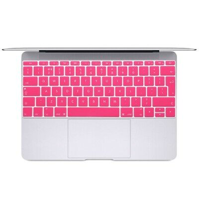 ELETTRONICA Magenta Soft 12 inch Translucent Colorized Keyboard Protective Cove