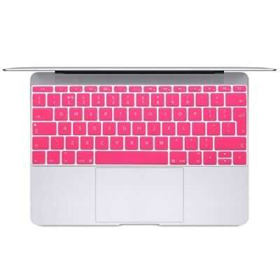 Hi-TECH Magenta Soft 12 inch Translucent Colorized Keyboard Protective Cover Sk