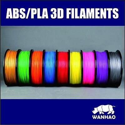 3D Printing Filament High Quality 1.75Mm 1Kg Pla Wanhao Brand.