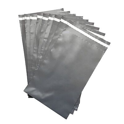 GREY MAILING BAGS for Posting Mail Order Items Poly/Polythene Courier Pouches