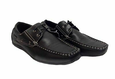 Mens Italian Lace Up Casual Smart Moccasin Loafers Driving Shoes UK Size New