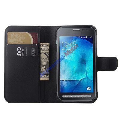 For Samsung Galaxy Xcover 3 G388F Flip Magnetic PU Leather Stand Card Cover Case