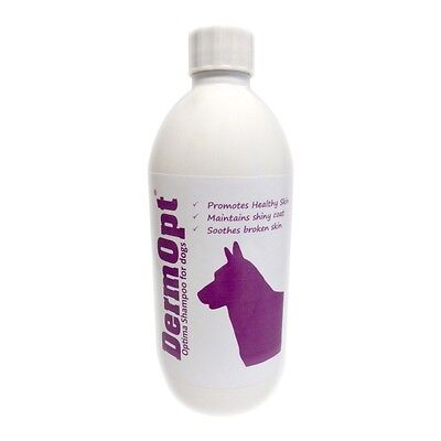 DermOpt® Optima, Dog Shampoo for a Healthy Skin and Coat (500ml)