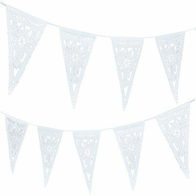 Ginger Ray Boho Floral Paper Bunting 3 m Party Wedding Birthday Home Decoration