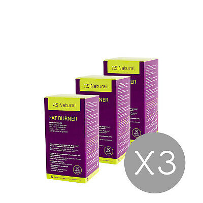 3 XS Natural Fat Burner: Fettverbrennende Tabletten