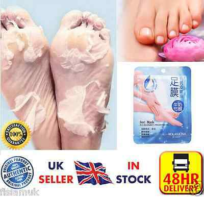 ☆NEW☆ 7 pair Exfoliating Foot Mask Feet Care Callus Hard Dead Skin corn remover