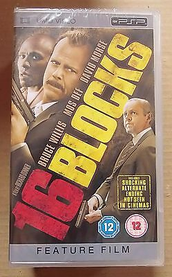 16 Blocks  (New and Sealed) Sony PSP UMD Video Movie
