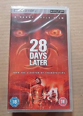 28 Days Later  (New and Sealed) Sony PSP UMD Video Movie