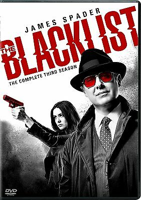 The Blacklist: The Complete Third Season 3, NEW, (DVD, 2016, 5-Disc Set)