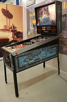 Sword of Fury Flipper Pinball von Wiliams F0687