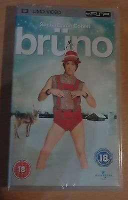 Bruno (New and Sealed) Sony PSP UMD Video Movie