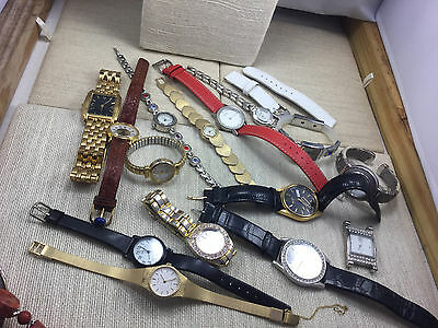 Lot Wholesale Resale Flea Market Repair Watches Wrists Pendants Band Parts Huge