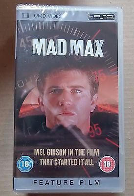 Mad Max  (New and Sealed) Sony PSP UMD Video Movie