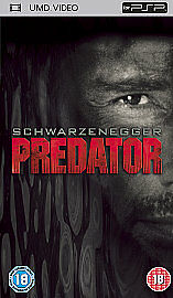 Predator  (New and Sealed) Sony PSP UMD Video Movie