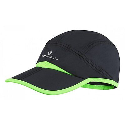 Ronhill Trail Split Running Cap Black/Green - One Size *NEW*