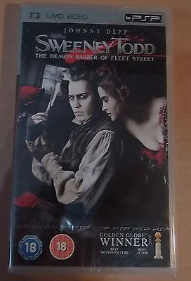 Sweeney Todd (New and Sealed) Sony PSP UMD Video Movie