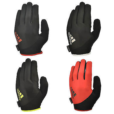 Adidas Full Finger Essential Weight Lifting Gloves Fitness Workout Gym Exercise