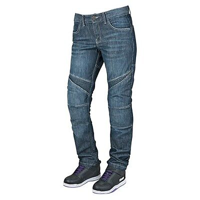 Speed & Strength Women's Killer Queen Reinforced Armored Motorcycle Riding Jean