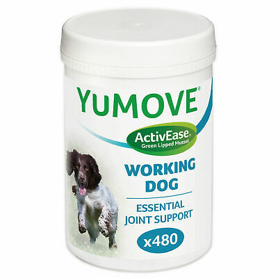 Lintbells Yumove Working Dog Joint Support Supplement 480 Tablets