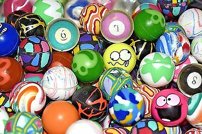 "6000 Bouncy Balls Premium Quality 27mm 1"" Vending Super Colorful RARE MIX!"