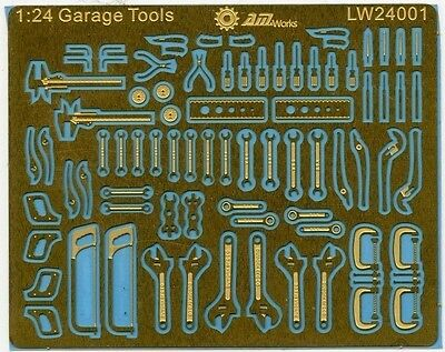Alliance 24001 x 1/24 Mechanic Tools Connectionless Photoetch
