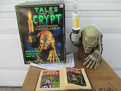 Tales From The Crypt Crypt Keeper Candelabra Complete With Original Box