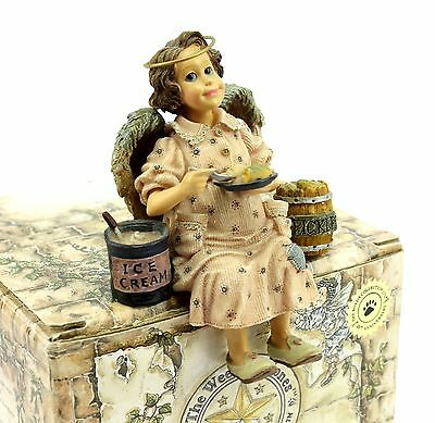 Boyds Folkstones Angels in Training MS PICKLESENCREAM Pregnant Figurine #36202