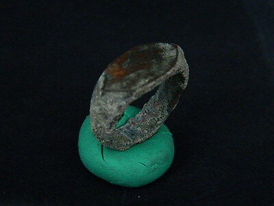 Ancient Bronze Ring Islamic 1400 AD    #BR1575