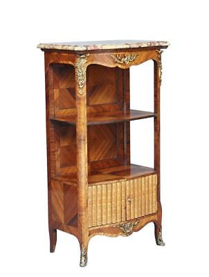 19Th Century French Kingwood Bookcase Cabinet