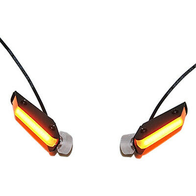 Front LED Turn Signals New Rage Cycles 796-FS 10-15 Ducati Monster 796