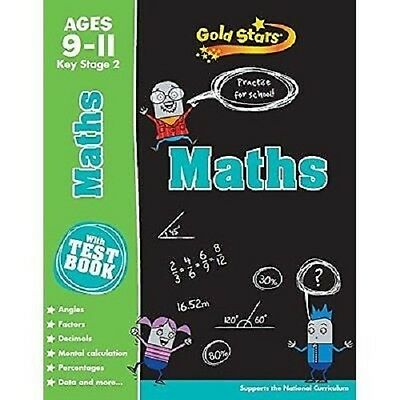 Gold Stars Maths  9 -11 Years  School  Workbook - Key Stage 2